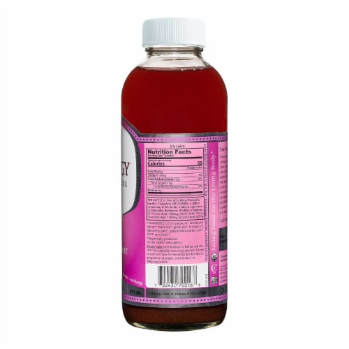 GT's Living Foods Synergy Organic Passionberry Bliss Raw Kombucha Perspective: back