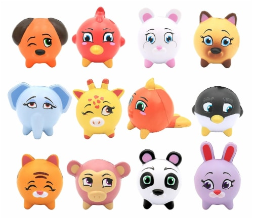 Emzo's Kawaii Squeezies Series 2 Animal Novelty (one random figure) Perspective: back