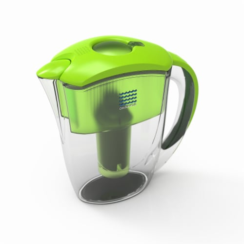 2 Drinkpod  Alkaline Water Pitchers 2.5L Capacity Includes 6 Filters Perspective: back