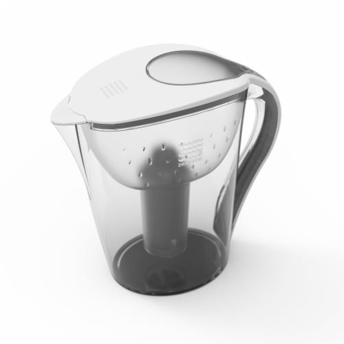 2 Drinkpod Ultra Premium Alkaline Water Pitchers 3.5L Capacity Includes 6 Filters Perspective: back