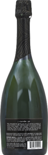 J Vineyards Brut Cuvee 20 Sparkling Wine Perspective: back