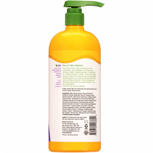 Alba Botanica® Very Emollient Unscented Body Lotion Perspective: back