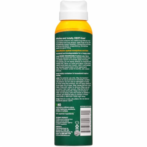 Alba Botanica® Anti-Bug Spray Insect Repellent Perspective: back