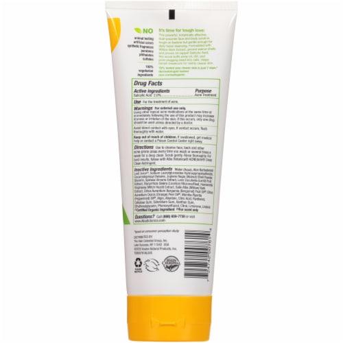 Alba Botanica® Acnedote Face & Body Scrub Perspective: back