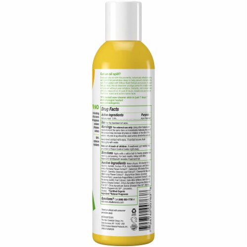 Alba Botanica® Acnedote Deep Clean Astringent Perspective: back