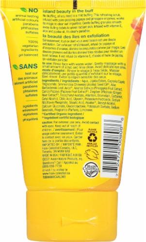 Alba Botanica Pineapple Enzyme Facial Scrub Perspective: back