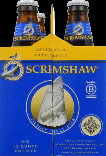 North Coast Brewing Co. Scrimshaw Pilsner Perspective: back