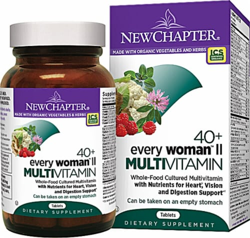 New Chapter Every Woman II 40 Plus Multivitamin 96 Count Perspective: back