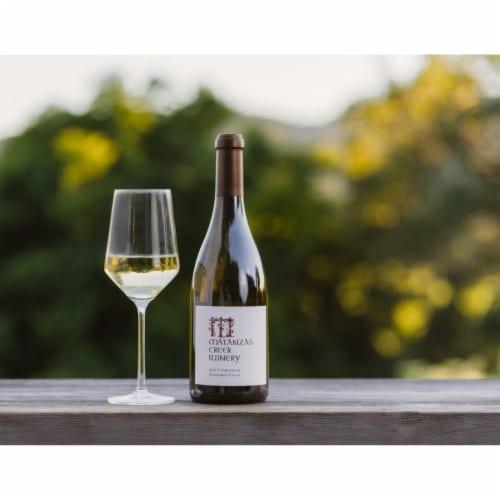 Matanzas Creek Winery Chardonnay White Wine Perspective: back