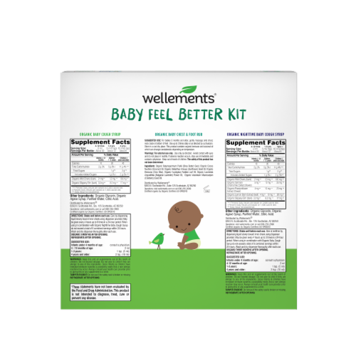 Wellements Baby Feel Better Kit Perspective: back