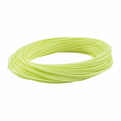 RIO Products WF5F Avid Trout Series Casting Line for Fly Fishing, Pale Yellow Perspective: back