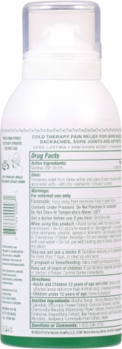 Biofreeze Cold Therapy Pain Relief Spray Perspective: back