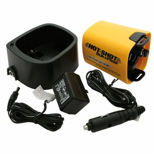 Miller Manufacturing Hot Shot DuraProd 4pc Rechargeable Battery Replacement Kit Perspective: back