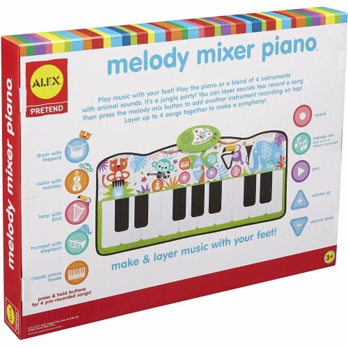 Alex Pretend Melody Mixer Piano Perspective: back