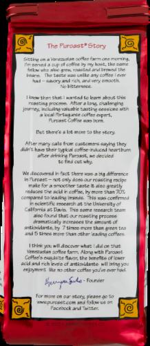 Puroast Coffee Organic Dark French Roast Coffee Perspective: back