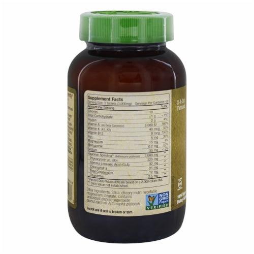 Nutrex Hawaii Pure Hawaiian Spirulina Pacifica 1000 mg., 180 Tablets Perspective: back