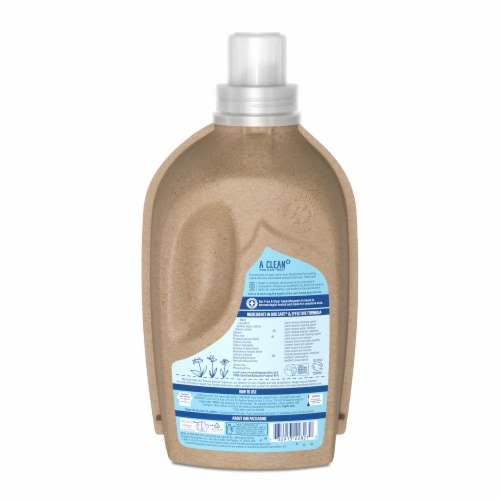 Seventh Generation Free & Clear Concentrated Laundry Detergent Perspective: back