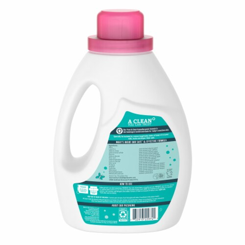 Seventh Generation® Free & Clear Baby Natural Laundry Detergent Perspective: back