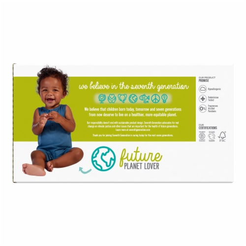 Seventh Generation Free & Clear Baby Wipes Perspective: back