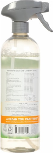 Seventh Generation Mandarin Orchard Scent Granite & Stone Cleaner Perspective: back