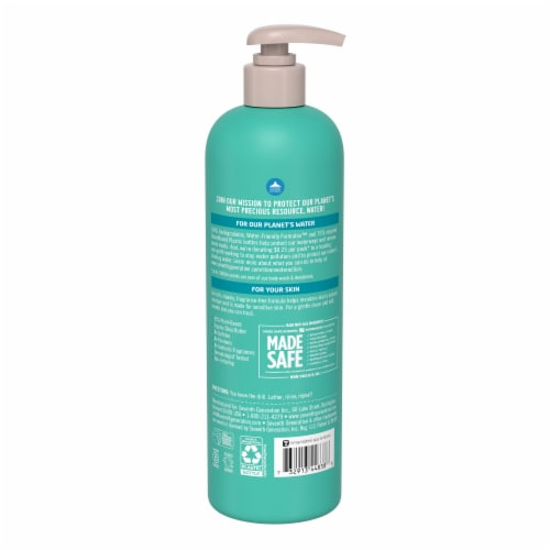 Seventh Generation Fragrance Free Body Wash Perspective: back