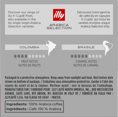Illy® Caffe Intenso Bold Roast K-Cup Pods Perspective: back