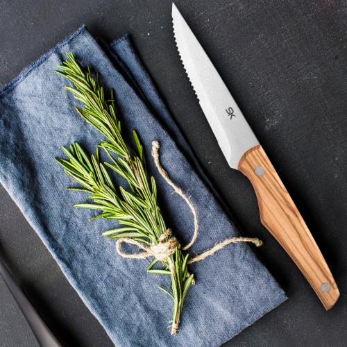 Hampton Forge Skandia Cutlery Set - Karlstad Ash Perspective: back
