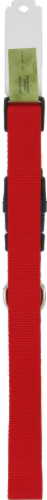 Alliance Red Large Dog Collar Perspective: back