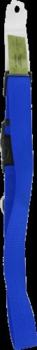 Alliance Blue Large Dog Collar Perspective: back
