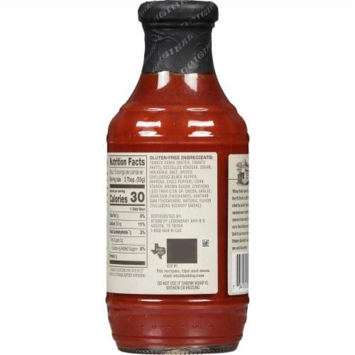 Stubb's Original Legendary Bar-B-Q Sauce Perspective: back