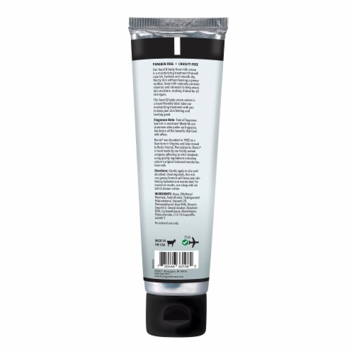 Dionis Unscented Hand & Body Cream Perspective: back