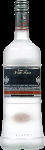 Pyccknn Ctahoapt Standard Vodka Perspective: back