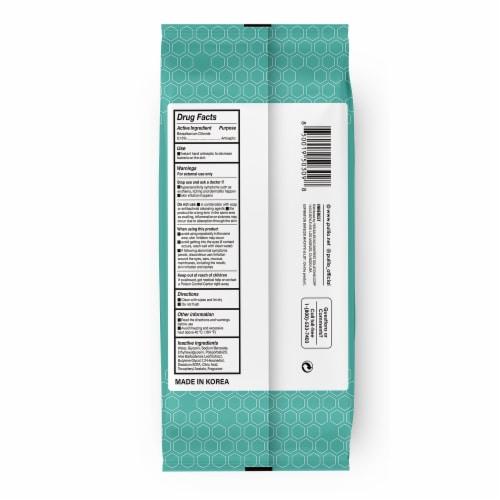 (20PK) pullio - Aloe Antibacterial Hypoallergenic Hand Sanitizer Wipes - 60ct, 1200 Wipes Perspective: back