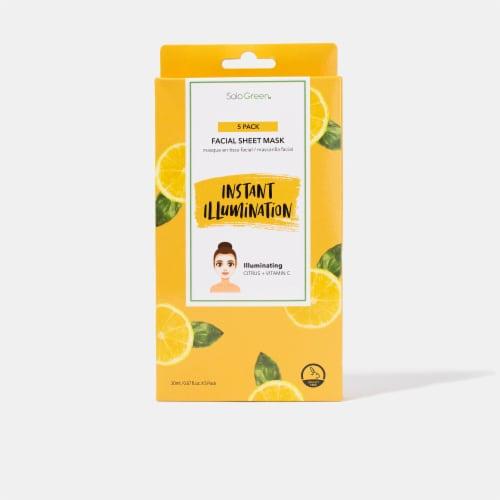 Pick Up & Go 24 Sheets Nourishing Mango Hand Mask Perspective: back