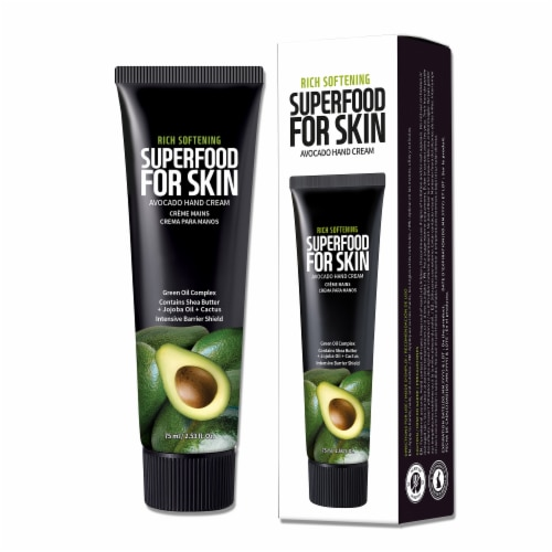 FARMSKIN 4 Packs Superfood Avocado Hand Cream Perspective: back