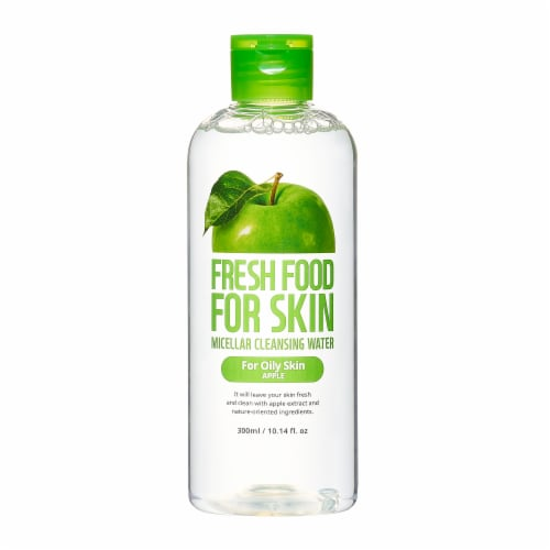 FARMSKIN Triple Apple Cleansing Set for Oily Skin (Freshfood) Perspective: back