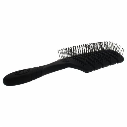 Wet Brush Pro Flex Dry Paddle Brush  Black Hair Brush 1 Pc Perspective: back