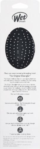 Wet Brush® Original Detangler® Black & White Hipster Brush Perspective: back
