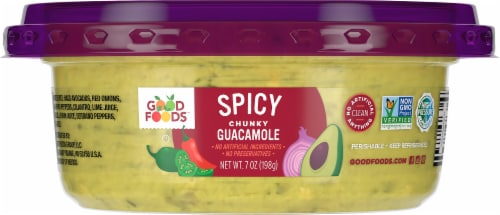 Good Foods Tableside Spicy Guacamole Perspective: back