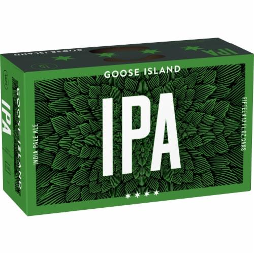 Goose Island IPA Beer Perspective: back