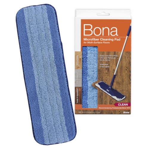 Bona® Microfiber Cleaning Pad Perspective: back