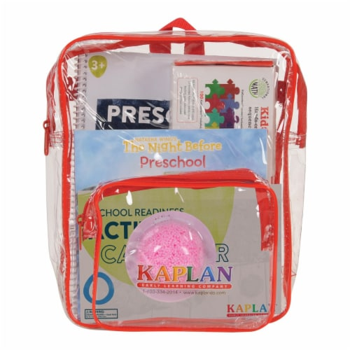 Kaplan Early Learning Time For Preschool Kit Perspective: back