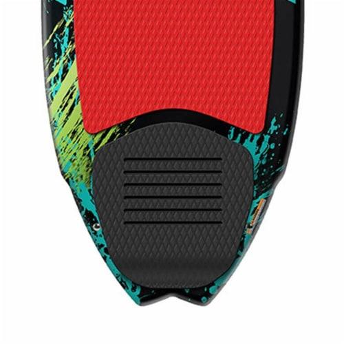 Airhead Pfish Beginner to Advanced 2 Fin Skim Style Water Wakesurf WakeBoard Perspective: back