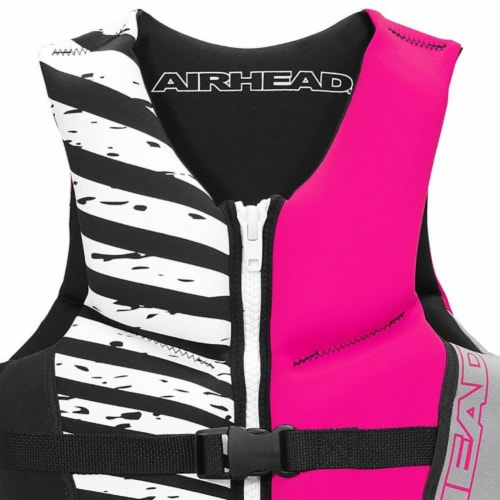 Airhead Wicked Neolite 50-90 Lb Pink Youth Life Vest Jacket   10077-03-B-HP Perspective: back