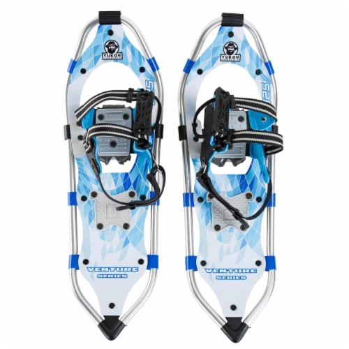 Yukon Charlie's Advanced 8 x 25 Inch Women's Snowshoe Kit with Poles and Bag Perspective: back
