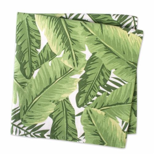 DII Banana Leaf Print Napkin (Set of 6) Perspective: back