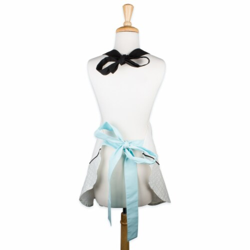 DII Mrs. Always Right Ruffle Apron Perspective: back