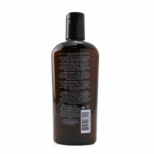American Crew Men Precision Blend Shampoo (Cleans the Scalp and Controls Color FadeOut) 250ml Perspective: back