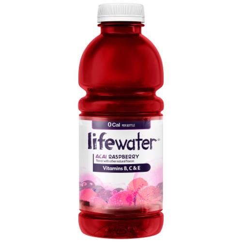 SoBe Water Vitamin Enhanced Zero Calories Acai Raspberry 20 oz Perspective: back