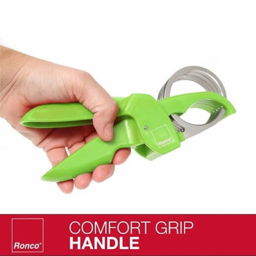 Ronco Handi Slicer for Fruit and Vegetable Chopping (Set of 2) 1.5  & 2  Slicer Perspective: back